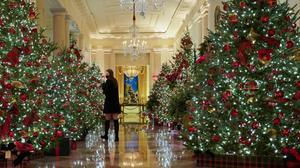 Los árboles de Navidad de la Casa Blanca.