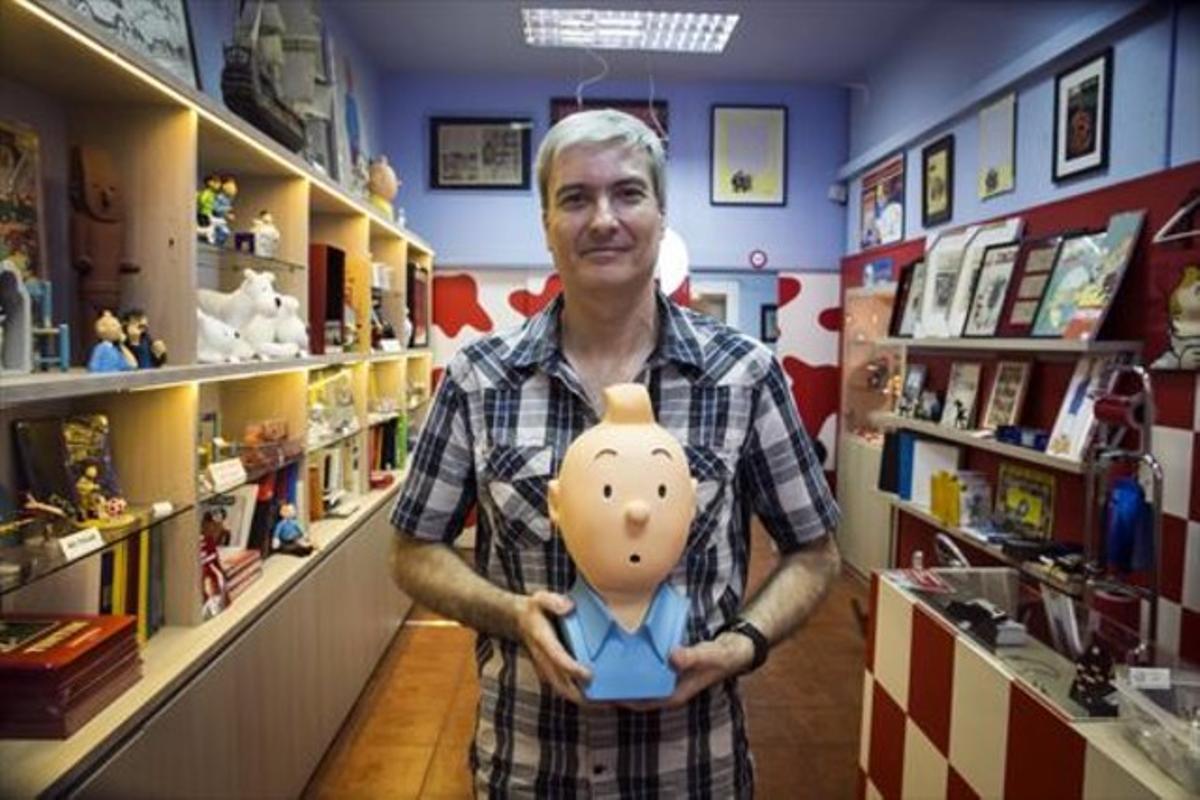 David Baker: «Queremos ser Tintín, pero en realidad somos Haddock»