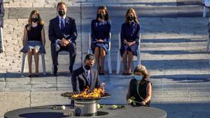 España rinde homenaje a las víctimas del coronavirus.