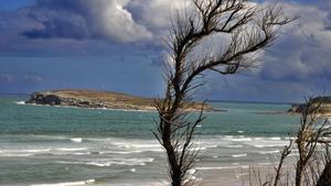 Una playa cántabra.