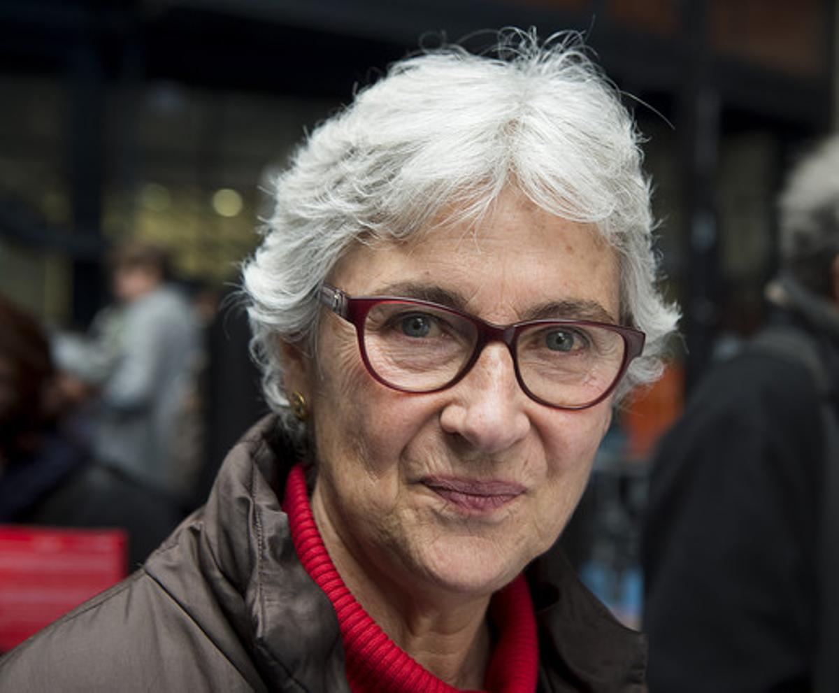 Muriel Casals, en marzo del 2015.