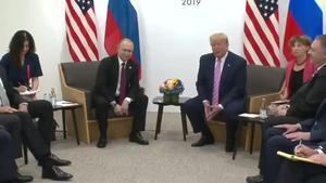 """Trump, a Putin en el G20: """"No et fiquis en les eleccions"""""""