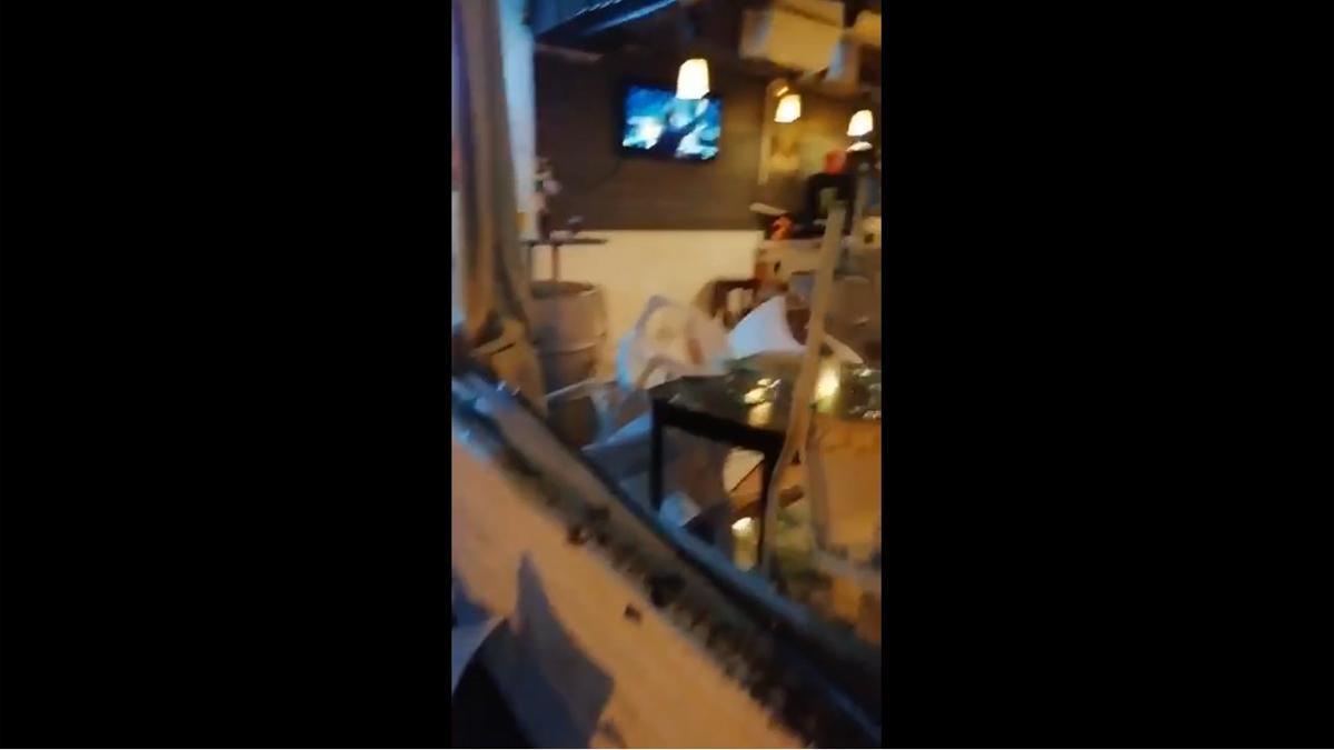 Detenido un Ultra Sur por destrozar un bar la noche del Real Madrid-Atlético