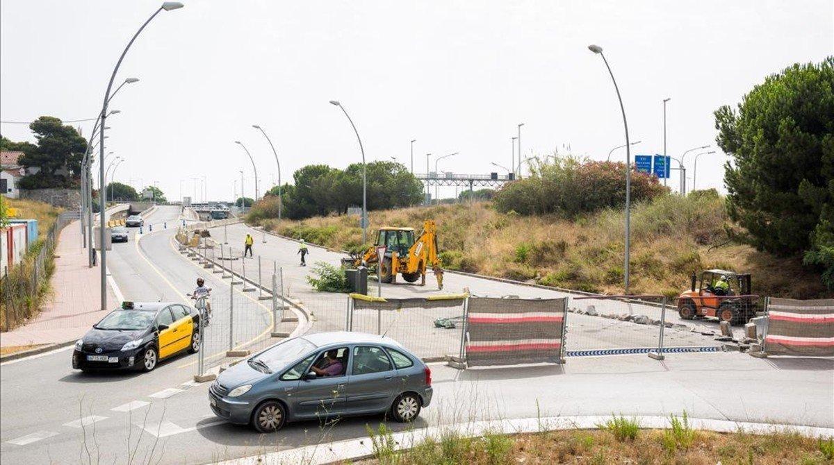 Comienza la construcción del carril bici que unirá BCN y Esplugues de Llobregat