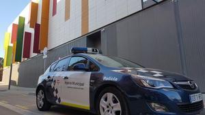 Un coche de la policía local de Mollet del Vallès.