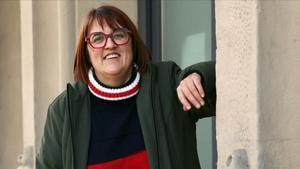 La editora y presidenta de la Associació d'Editors en Llengua Catalana, en Barcelona.