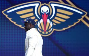 Zion Williamson fue elegido por los Pelicans de Nueva Orleans de la NBA.