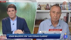 Joan Baldoví demana a TVE que reconsideri l'acomiadament de Jesús Cintora de 'Las cosas claras'