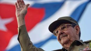El líder saliente del Partido Comunista Cubano, Raúl Castro.