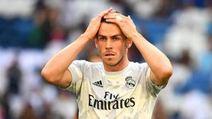 Bale, en el Bernabéu.