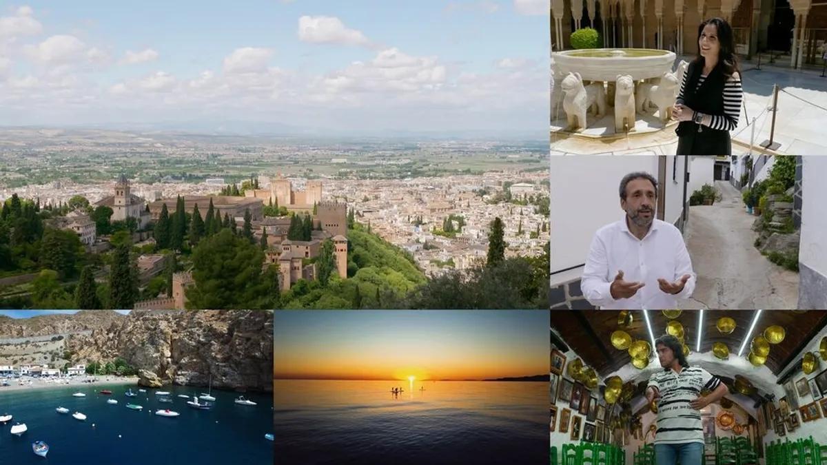 Imágenes de la nueva entrega de 'Viajeros Cuatro' en Granada