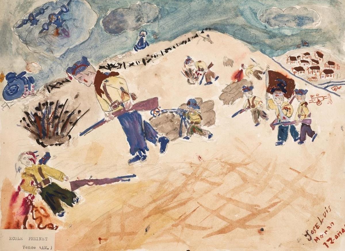 Els nens que van dibuixar la guerra