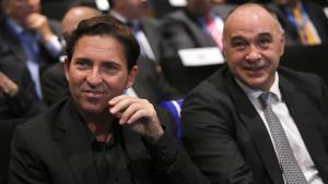 Xavi Pascual y Pablo Laso, en una imagen de archivo, vuelven a cruzarse en una eliminatoria europea.