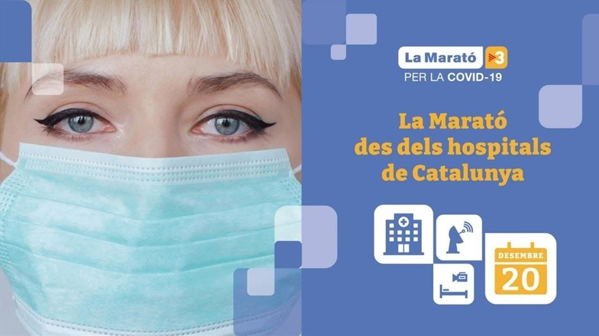 Cartel de La Marató de TV3 2020