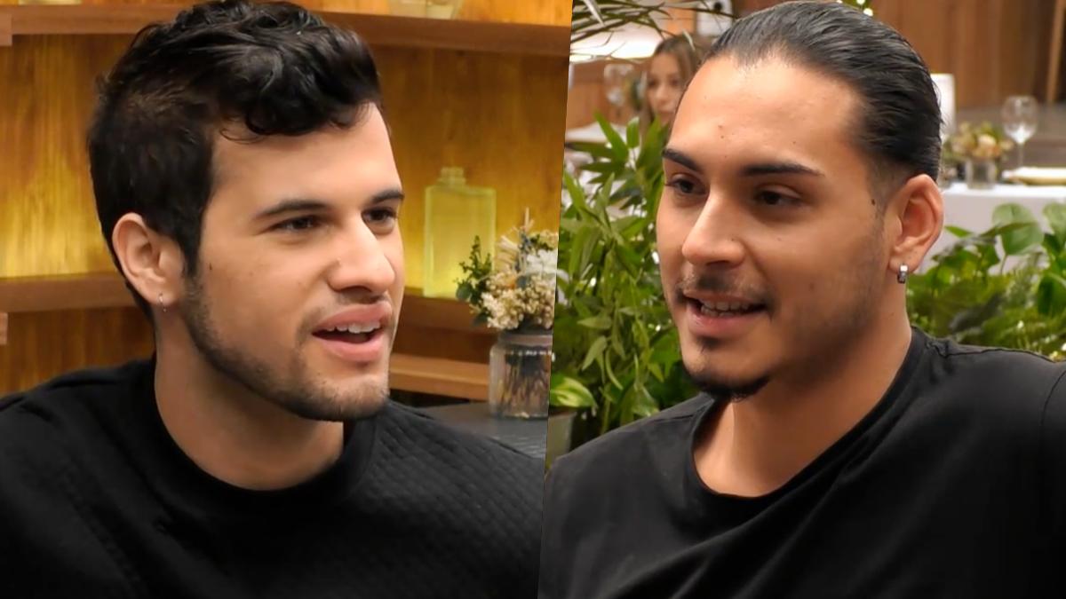 Sebastián y Antonio José en 'First Dates'.