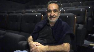 Miguel Ángel Pérez, en el nuevo cine Embajadores de Madrid