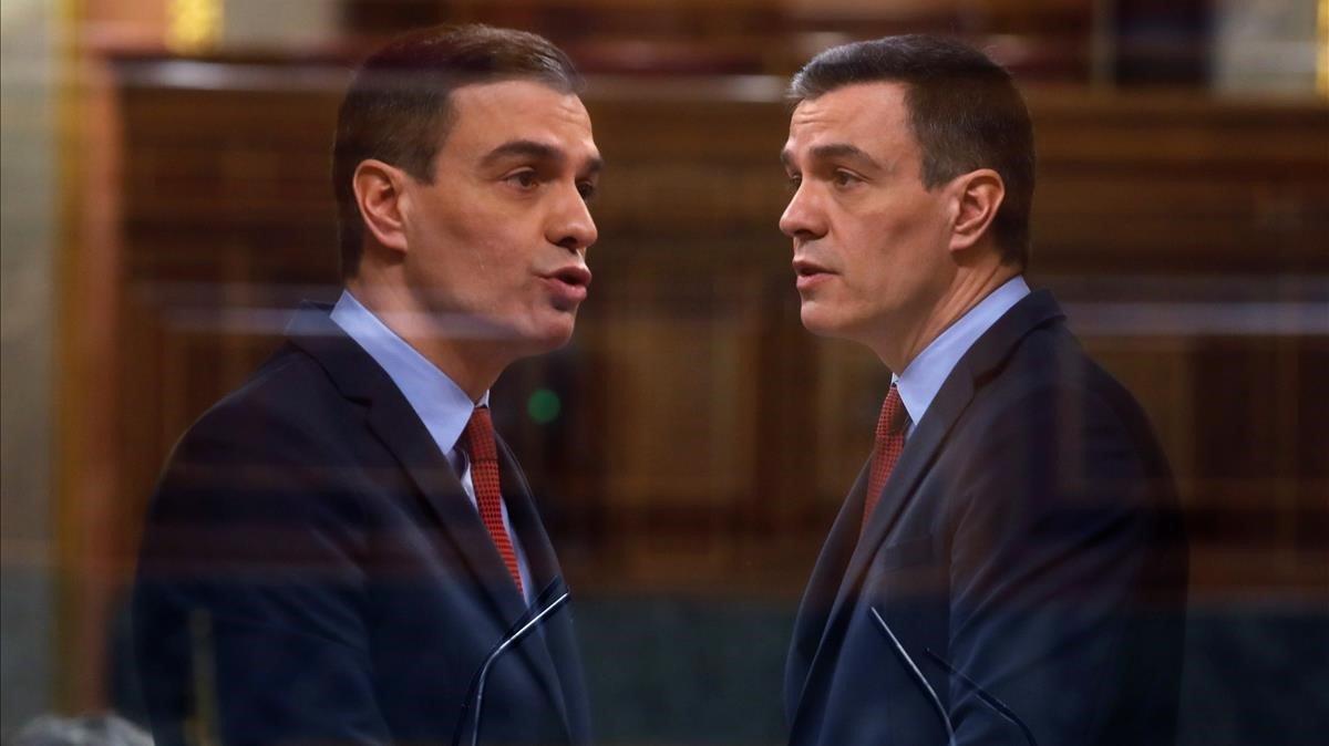 "Sánchez anuncia una desescalada ""lenta"" con posibles ""pasos atrás"""