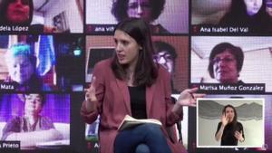 Montero: Se equivocará quien mida la fuerza del feminismo por lo llenas que estén mañana las calles.