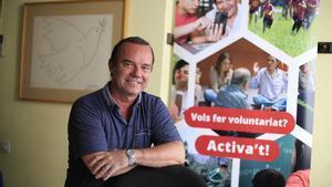 Jordi Balot, presidente de la Federació Catalana de Voluntariat Social.