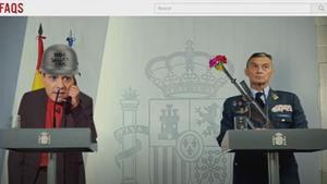 Sánchez reconvertido en Gila en 'FAQS'.