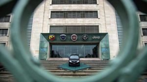 Sede de Fiat Chrysler en Tturín.