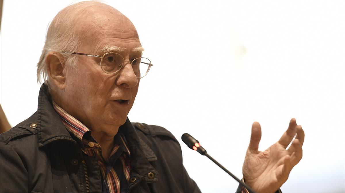 El expresidente de la Sociedad General de Autores Espanoles (SGAE) Eduardo 'Teddy ' Bautista.