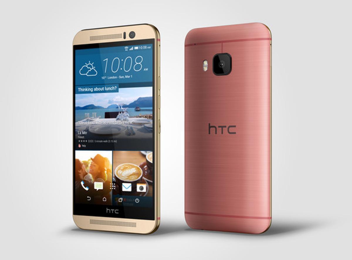 El HTC One M9.
