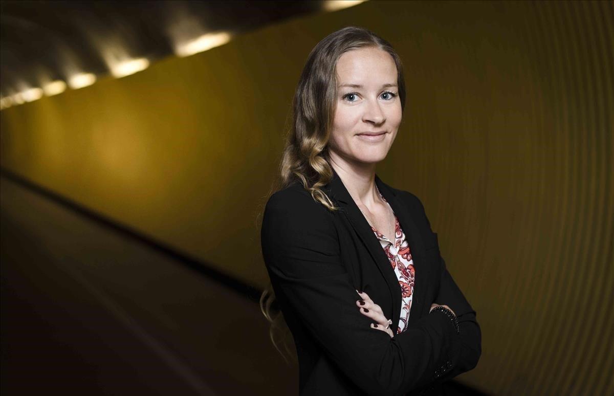 La escritora sueca Stina Jackson.