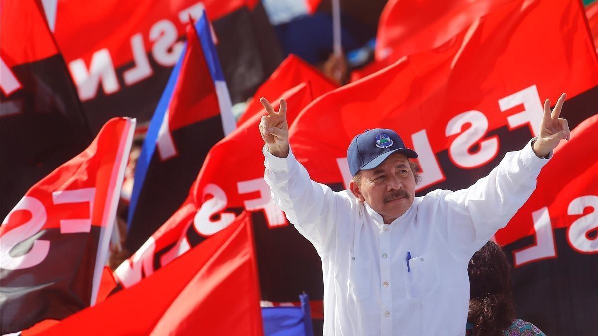 Daniel Ortega fue proclamado por octava vez candidato presidencial