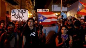 Manifestaciones sociales en Puerto Rico.