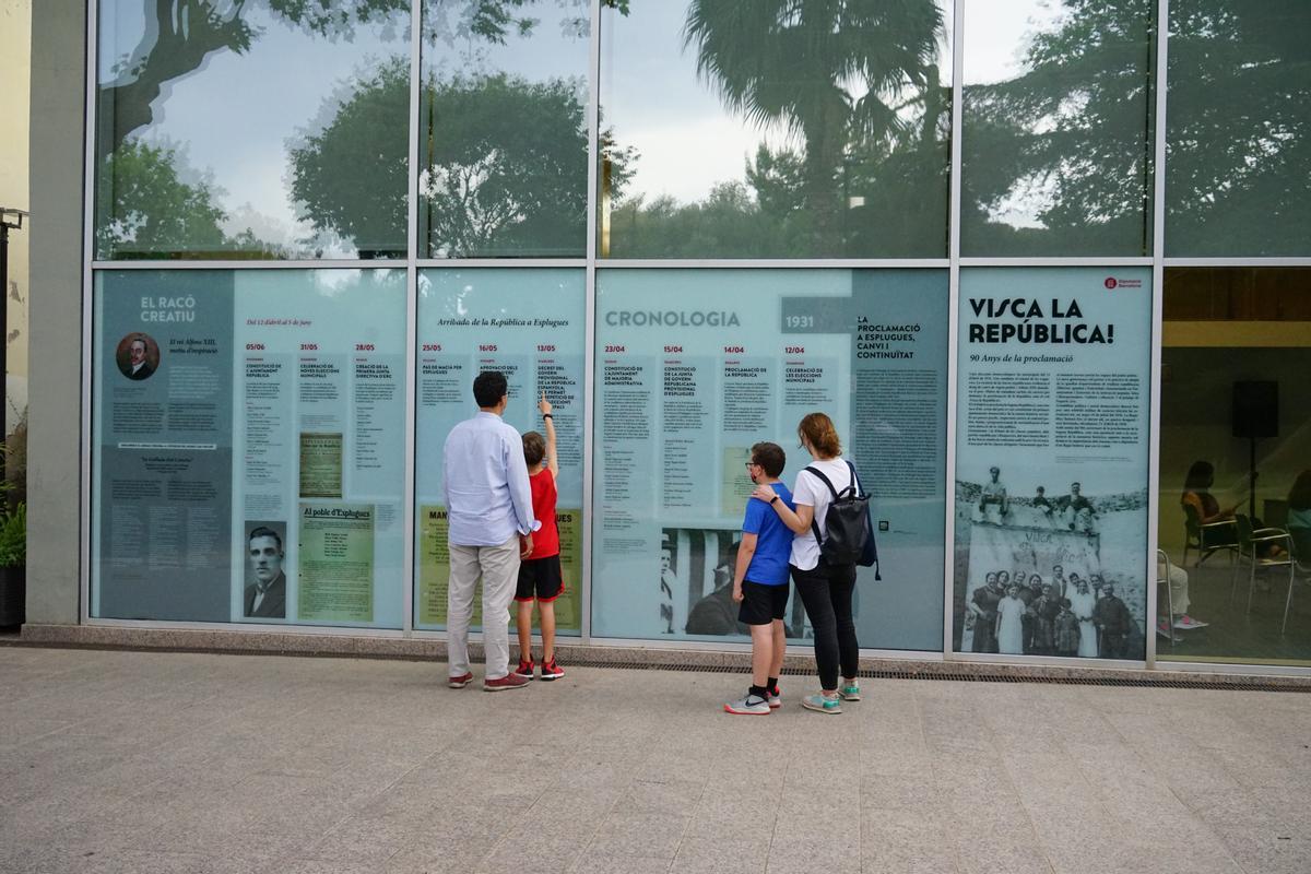 Esplugues presentan una muestra sobre la 2ª República en la ciudad