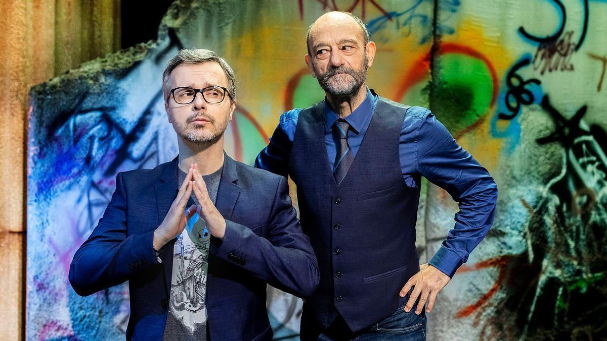 Juan Gómez-Jurado y Javier Cansado, en 'El condensador de fluzo'.