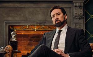 Nicolas Cage, presentador de 'La historia de las palabrotas'.