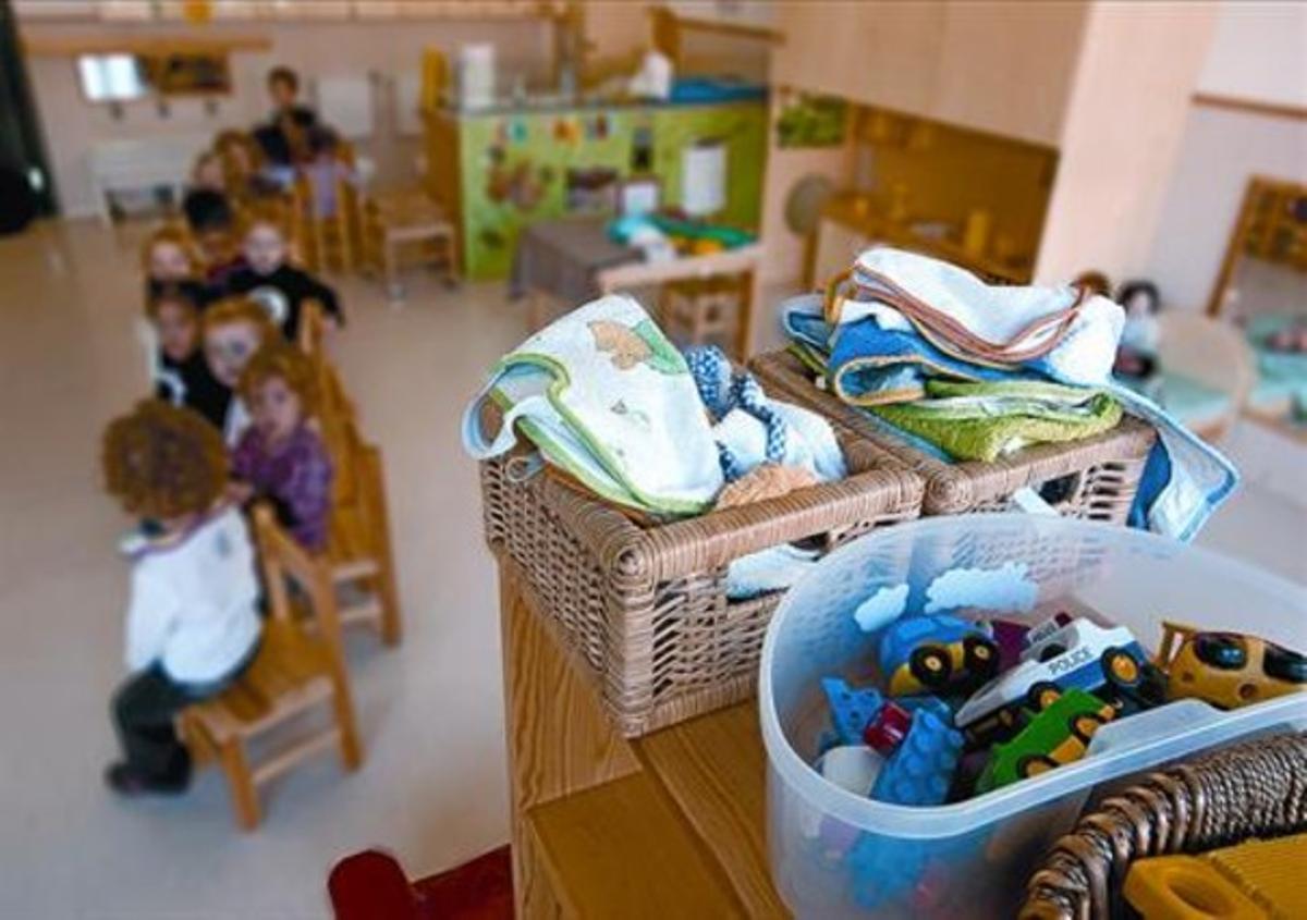 La Escola Bressol Municipal El Putget, en octubre del 2009.