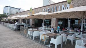 Imagen de la terraza de la discoteca Opium dedía.