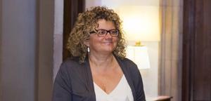 Marina Geli, en el Parlament.