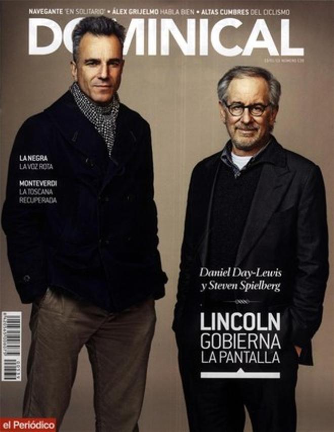 Day-Lewis y Spielberg, en el 'Dominical'.