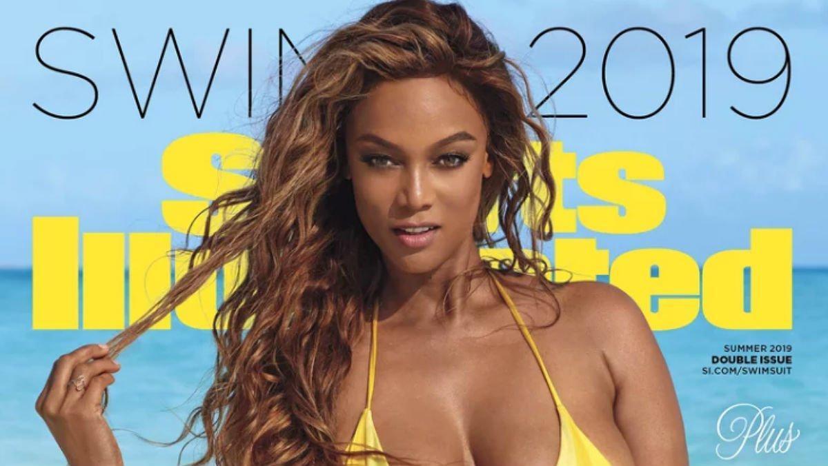 Tyra Banks, otra vez 'chica de portada' en 'Sport Illustrated'.