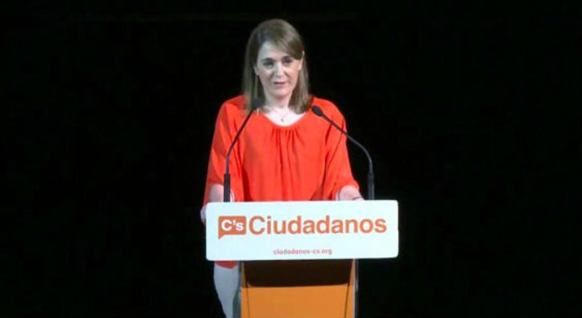 Marta Rivera de la Cruz, número tres de Ciudadanos de la lista por Madrid.