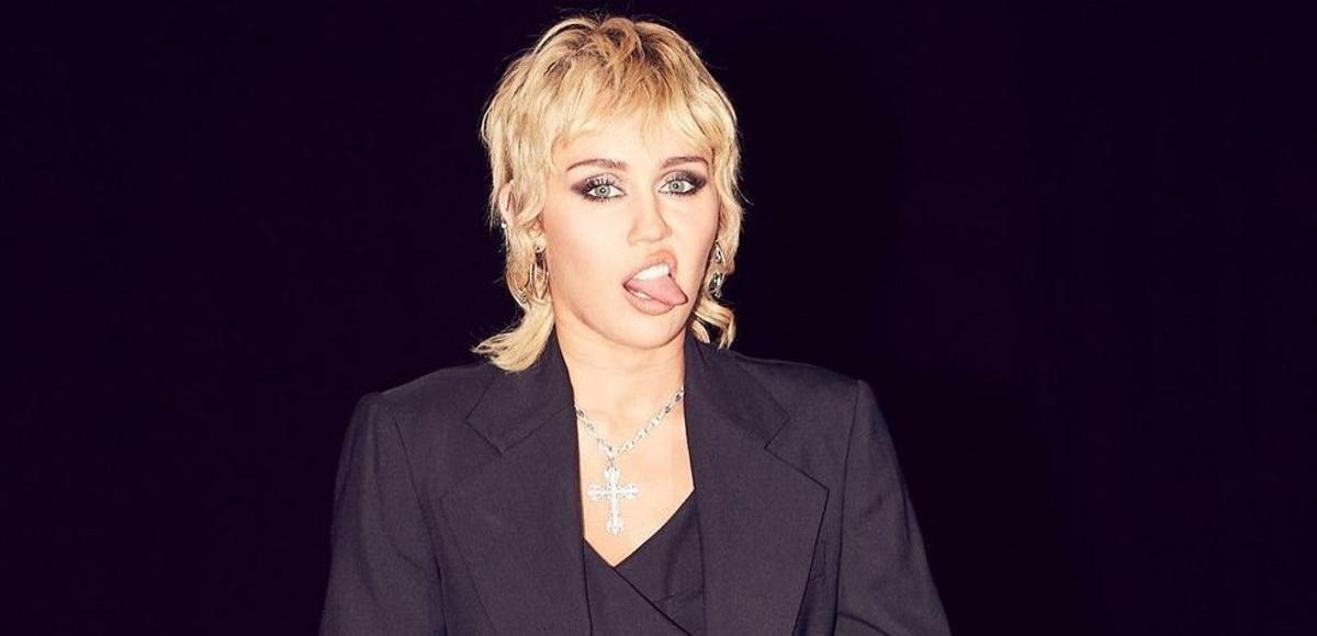 El 'mullet' de Miley Cyrus.