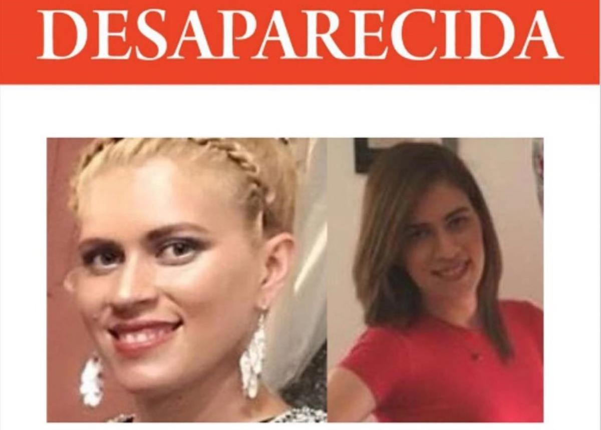 Cartel con las fotos de Vianca Alejandra Roca.