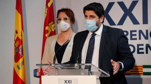 El presidente de Murcia, el conservador Fernando López Miras