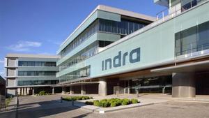 Sede de Indra en Alcobendas, Madrid.