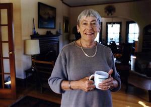 Ursula K. LeGuin, en el 2001.