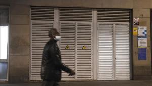 El equipamiento del Raval, cerrado temporalmente, el pasado 19 de noviembre.