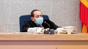 El magistrado Alfonso Guevara, durante el juicio por los atentados del 17 de agosto de 2017 en Barcelona y Cambrils, el pasado 10 de noviembre.