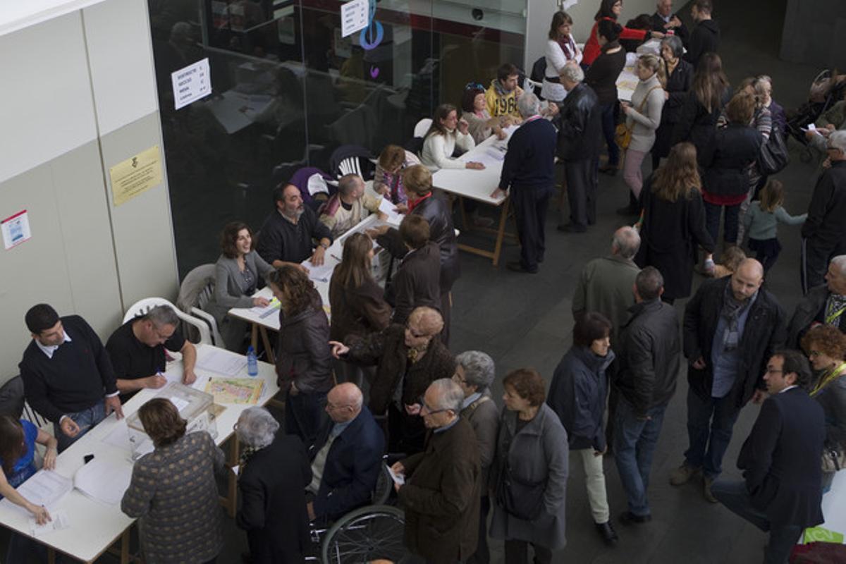 Electors al Conservatori de Terrassa.