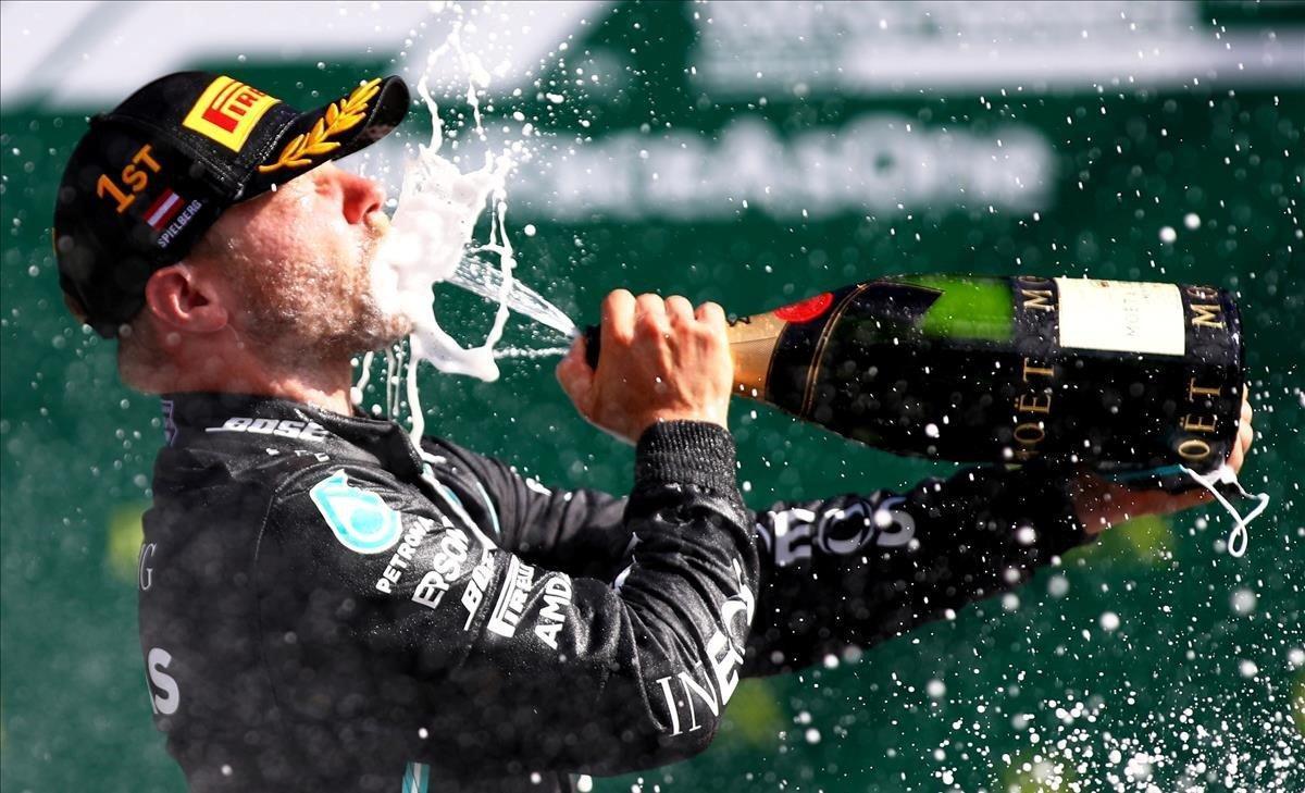 Valtteri Bottas, ganador del GP de Austria.