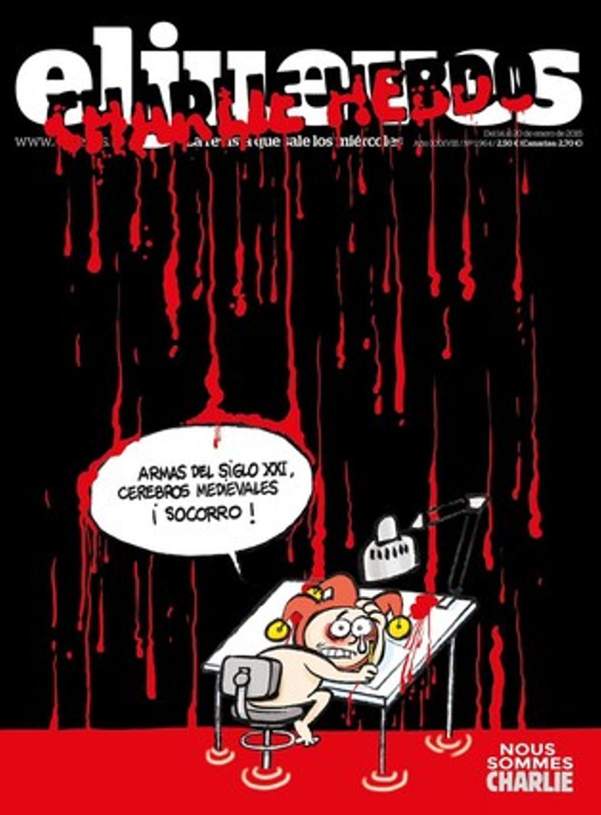 La portada de 'El Jueves' de esta semana.
