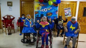 Los superhéroes del geriátrico de Mutxamel RAFA ARJONES